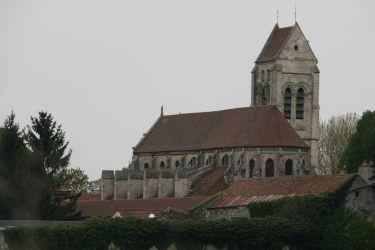 L'Église, vue arrière